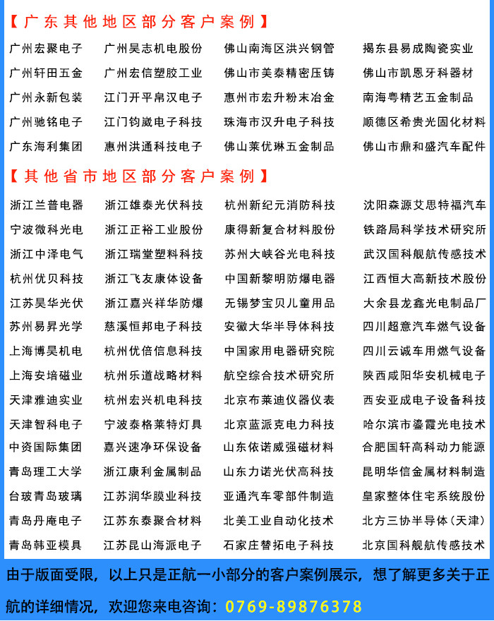 Cases of Zhenghang Instrument in other provinces